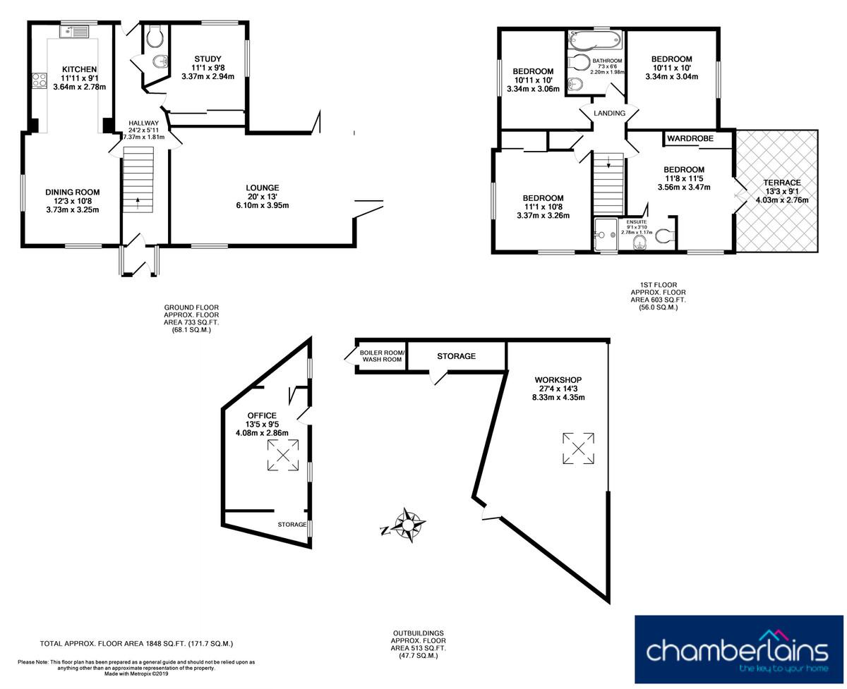 Floor Plan-Exeter Road, Teignmouth, TQ14 9LG