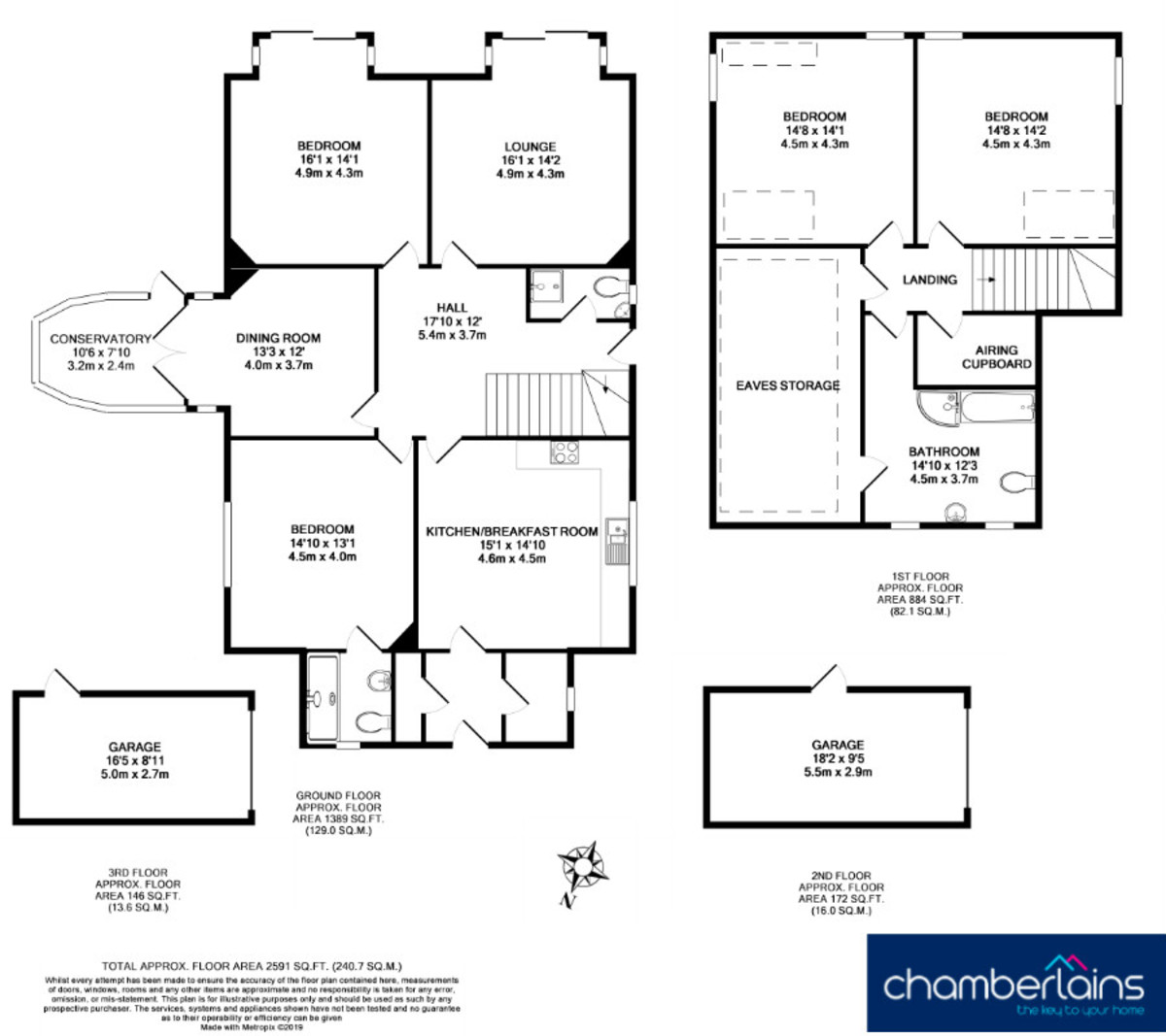 Floor Plan-Coombe Meadow, Bovey Tracey