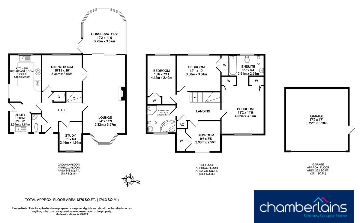 Floor Plan-Pine Close, Teignmouth, TQ14 8XA