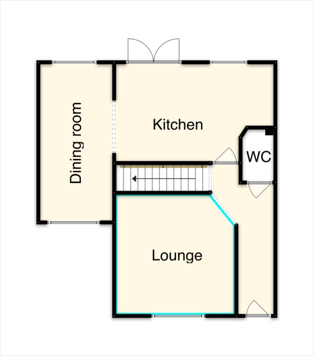 Floor Plan-Voisey Close, Chudleigh, Newton Abbot