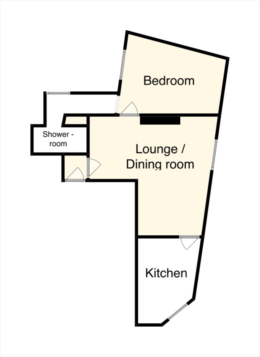 Floor Plan-Fore Street, Bovey Tracey