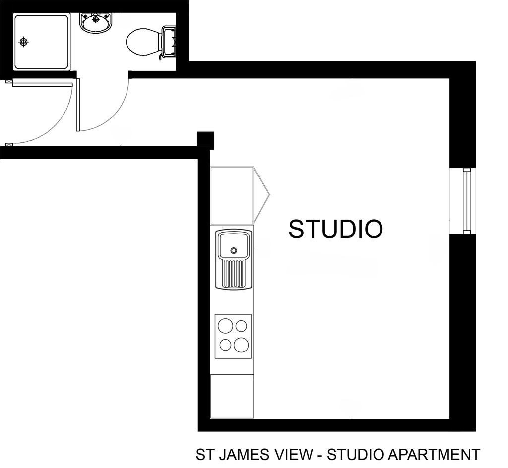 studio											student 					               		               		for rent in st james street