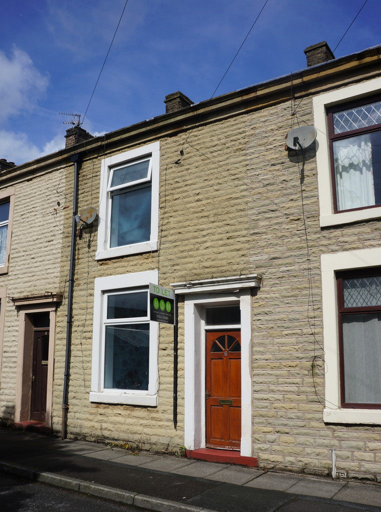 2 bedroom mid terraced house Let Agreed in Blackburn - photograph 1.