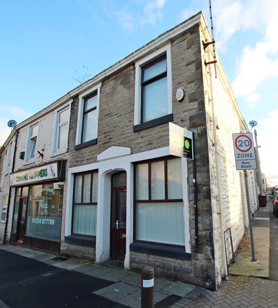 1 bedroom end terraced house To Let in Blackburn - Main Image.
