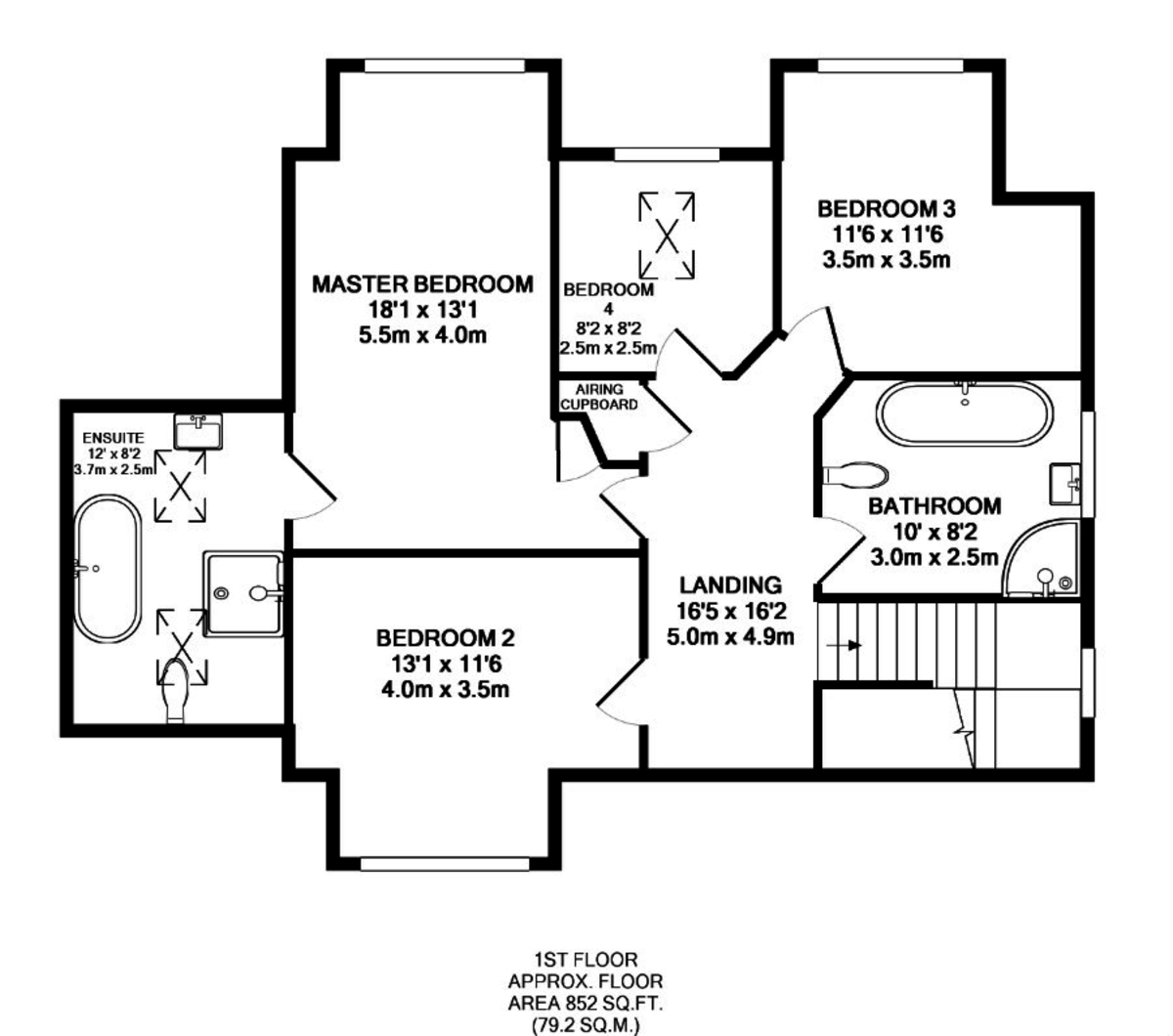4 Bedroom Link Detached, Christleton