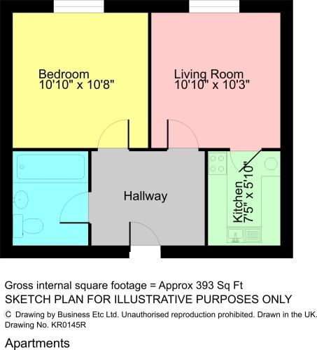 Floorplan Chapel Lane, Kendal LA9 5LS