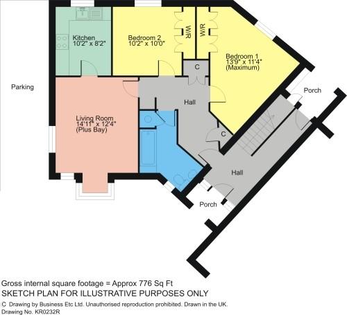 Floorplan Fairfield Close, Staveley, Nr Kendal