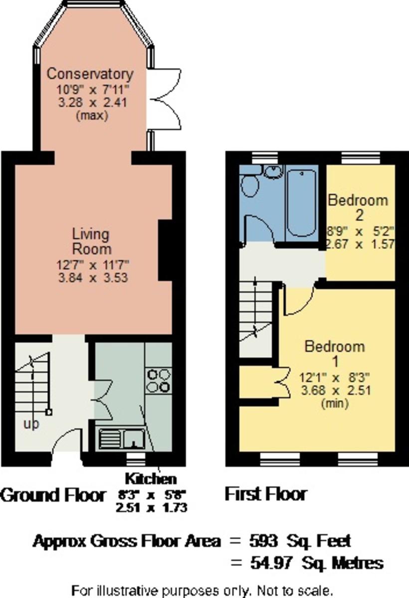 Floorplan 11 Dallam Chase, Milnthorpe, Cumbria LA7 7DW
