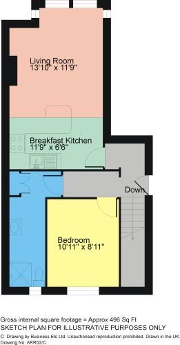Floorplan Flat 4 Broadlands, Church Hill, Arnside LA5 0DF