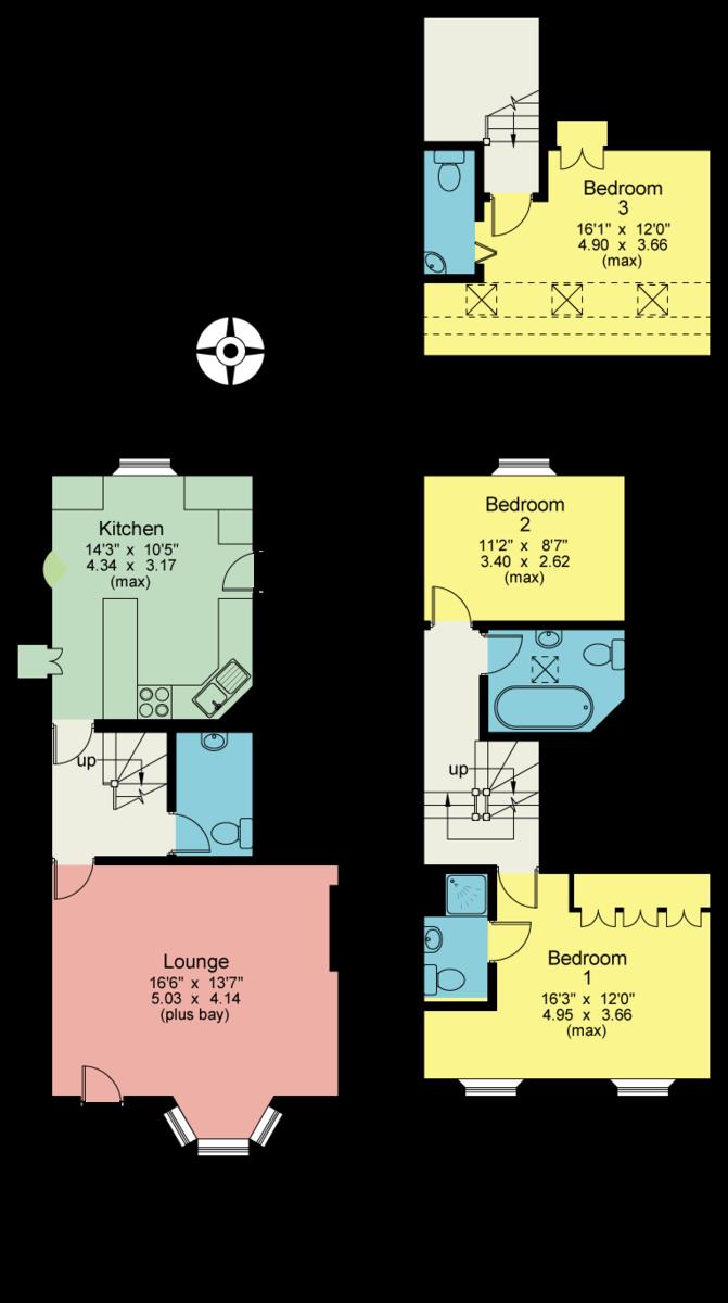 Floorplan Barn Garth, Barn Garth, Cartmel, Grange-over-Sands, Cumbria, LA11 6PP.