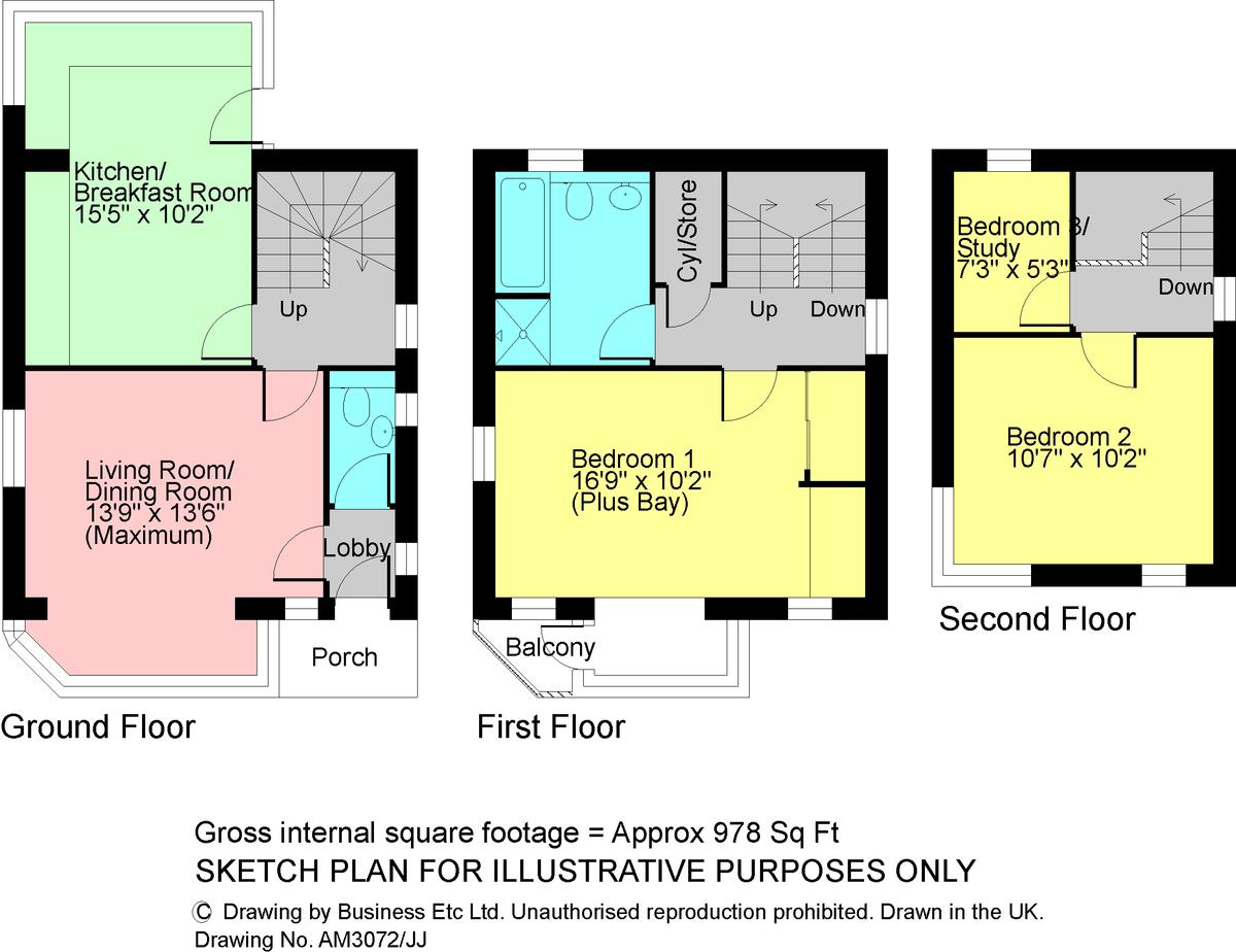 Floorplan Building Plot, Wansfell Road, Ambleside, LA22 0EG