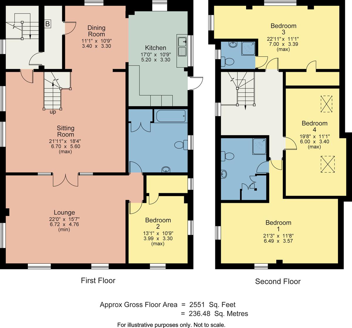 Floorplan 1 Cumbria House, Stock Lane, Grasmere, Ambleside LA22 9SJ