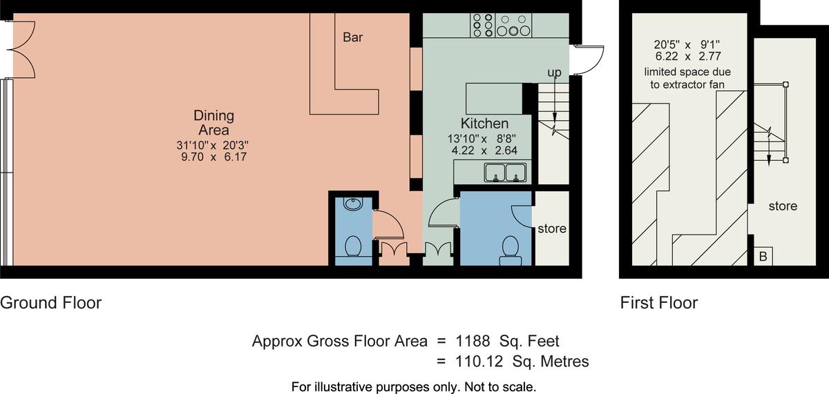 Floorplan House of Siam, 5 Grosvenor Terrace, Lake Road, Bowness on Windermere, LA23 3BS
