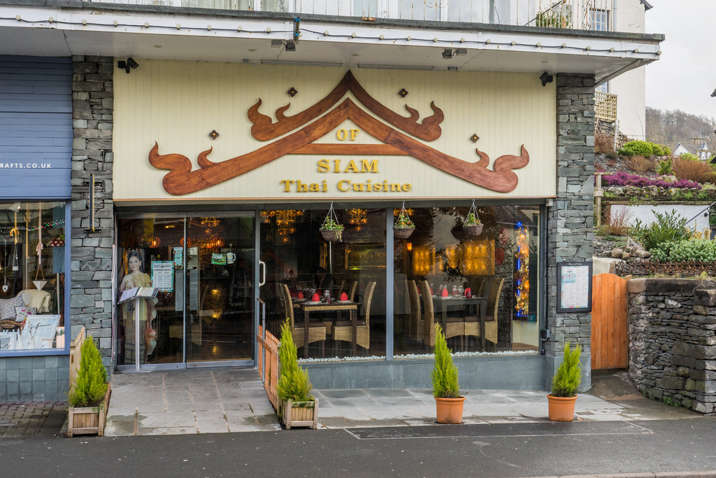 House of Siam, 5 Grosvenor Terrace, Lake Road, Bowness on Windermere, LA23 3BS