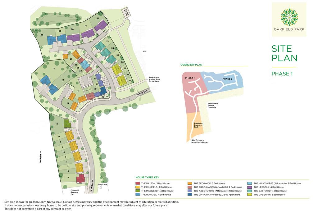 Oakfield Park (Plot 38 – Dalemain B), Kendal Road, Kirkby Lonsdale