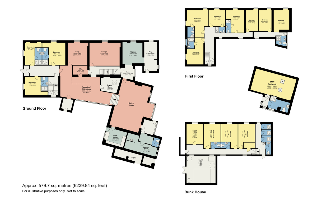 Floorplan Thorney How, Grasmere, Cumbria, LA22 9QW