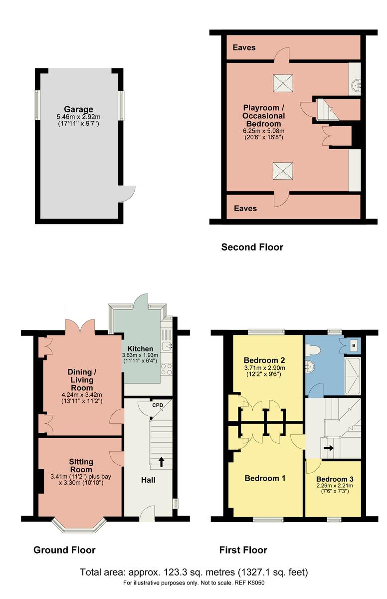 Floorplan 83 Appleby Road, Kendal, Cumbria, LA9 6HE