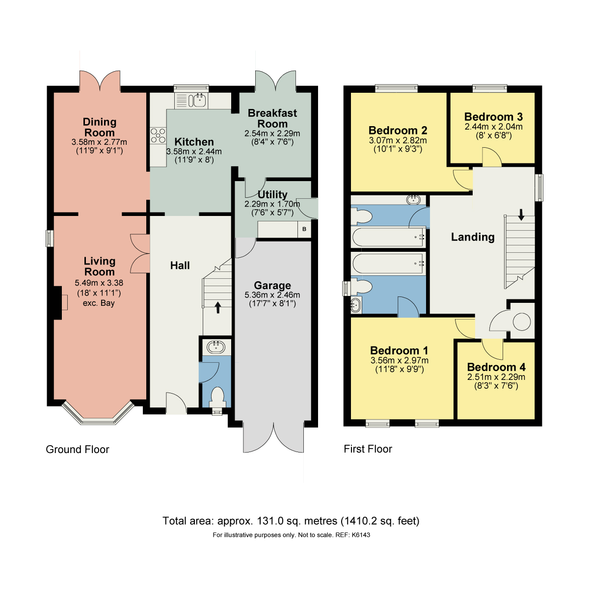 Floorplan 28 Aldercroft, Kendal, Cumbria LA9 5BQ