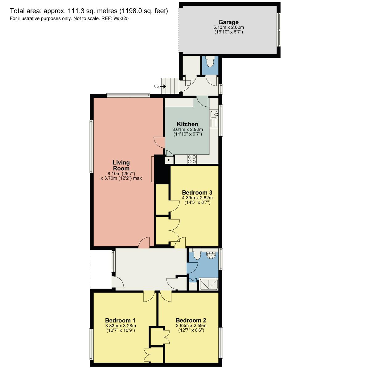 Floorplan 4 Wynlass Park, Windermere, Cumbria, LA23 1ET