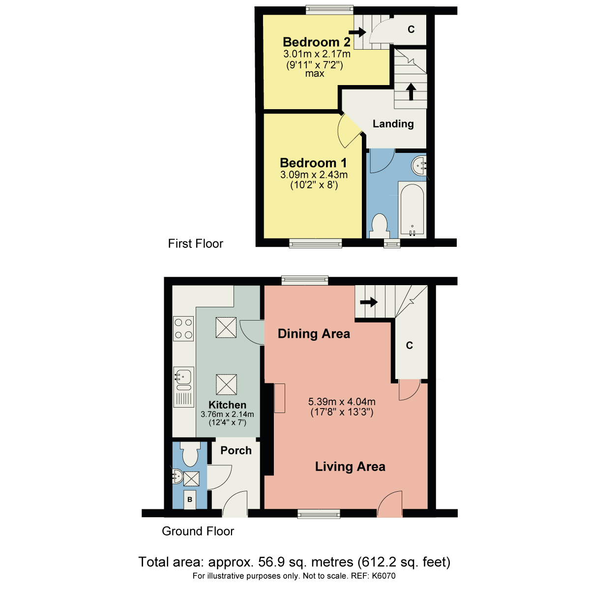 Floorplan Limestone Cottage, 3 The Square, Levens, Kendal, Cumbria LA8 8NW