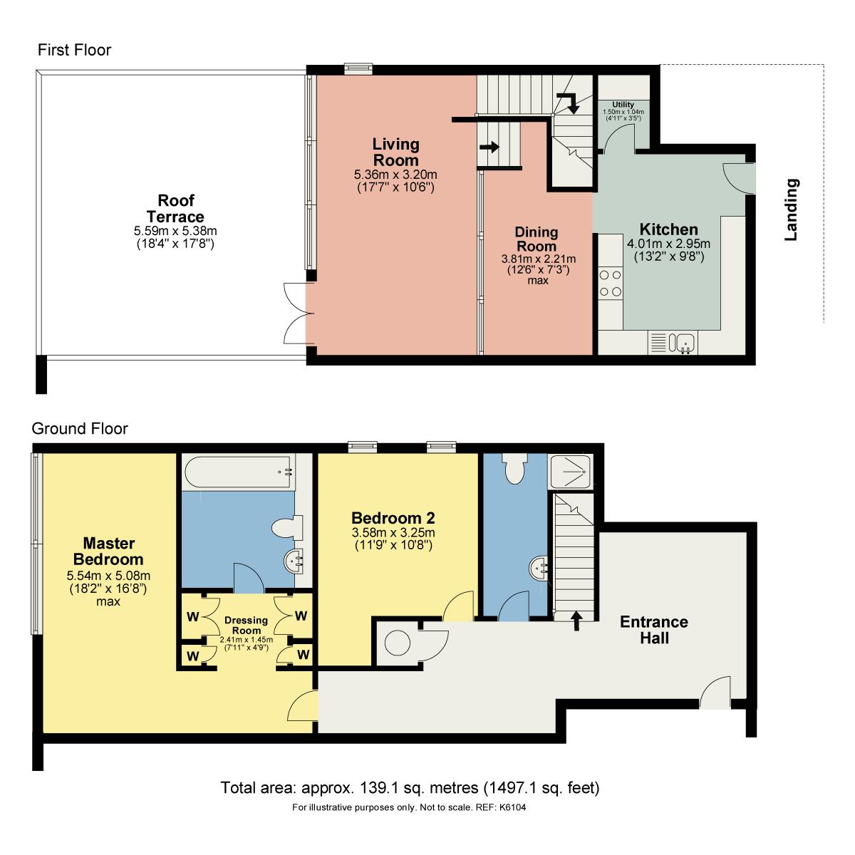 Floorplan 502 Sand Aire House, Stramongate, Kendal, Cumbria LA9 4UA