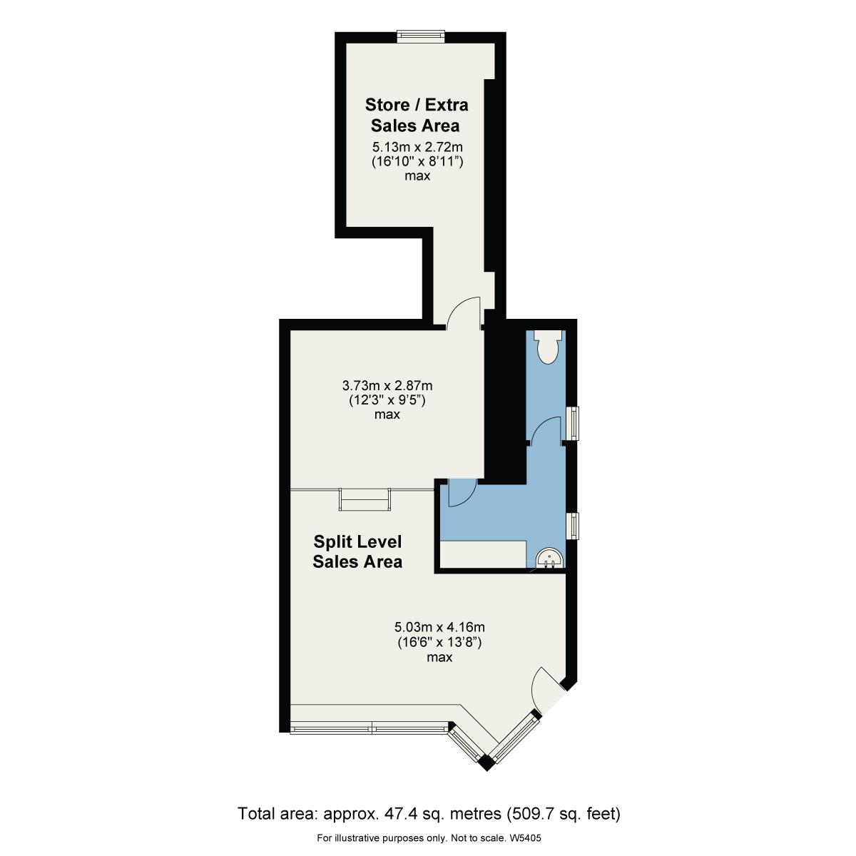 Floorplan 26, Main Road, Windermere, Cumbria, LA23 1DY