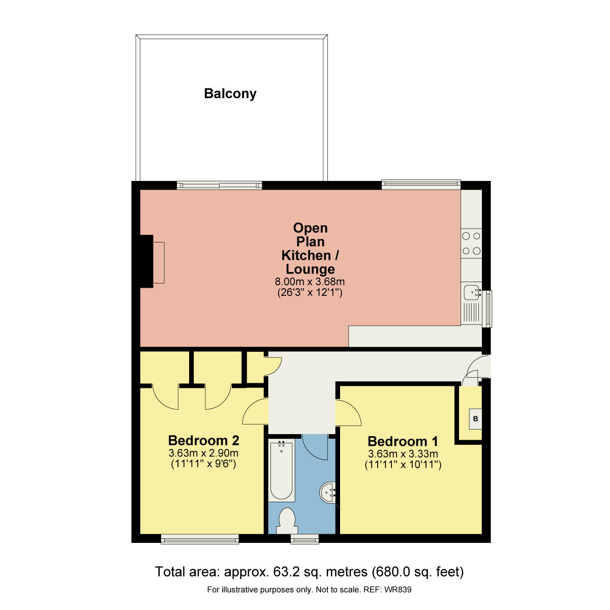 Floorplan 24 Beechwood Close Bowness LA23 3AB