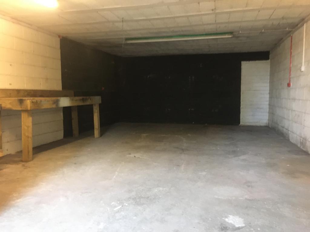 Store room at the retail unit, Station Yard, Grange-over-Sands, Cumbria, LA11 6DW