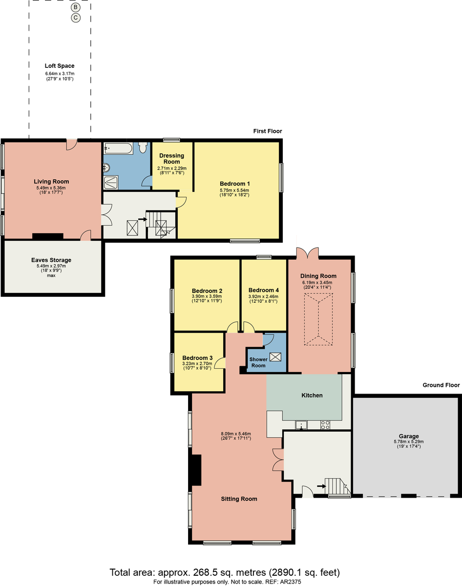 Floorplan Teddy Heights, Carr Bank, Milnthorpe, Cumbria, LA7 7JT