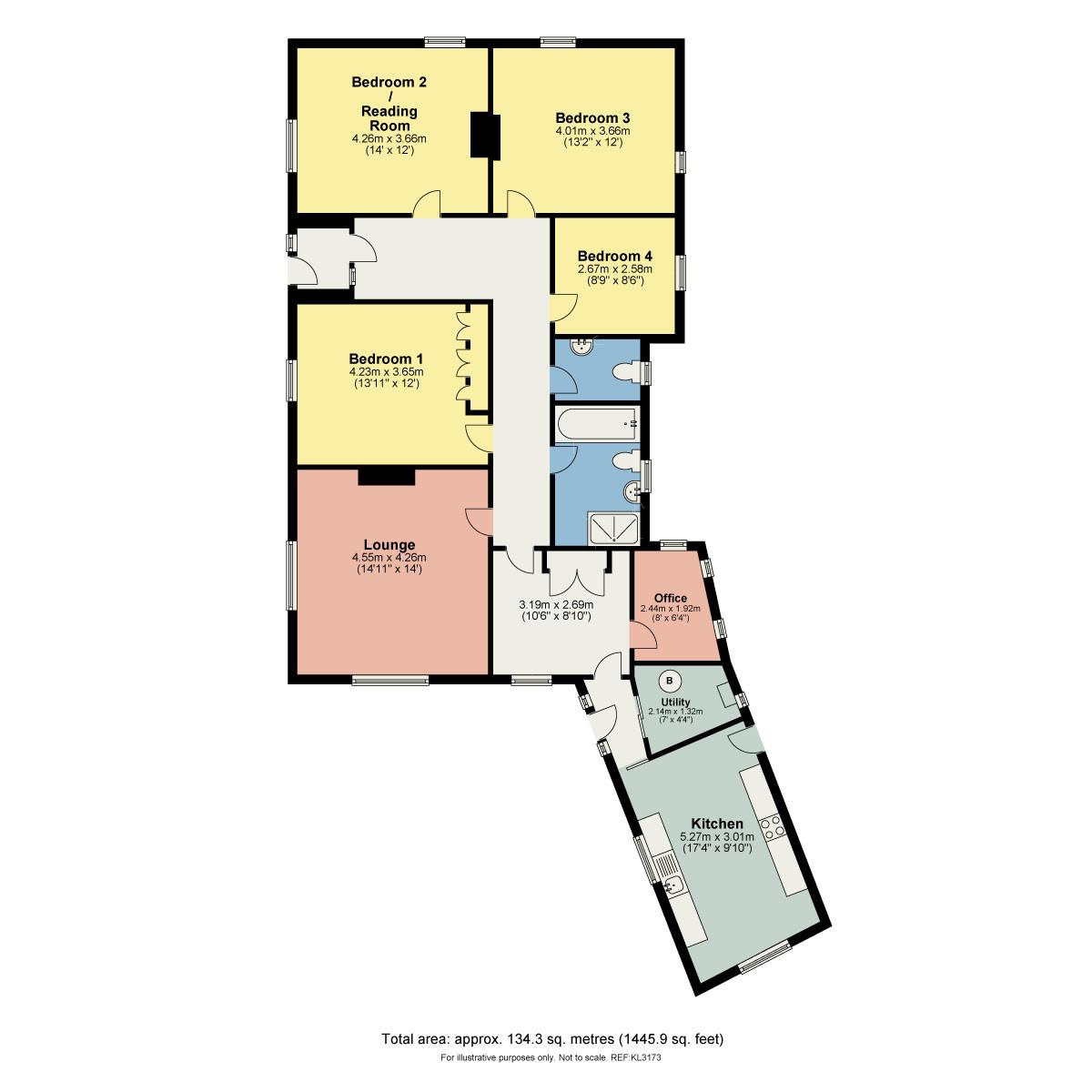 Floorplan Kearstwick, Kirkby Lonsdale
