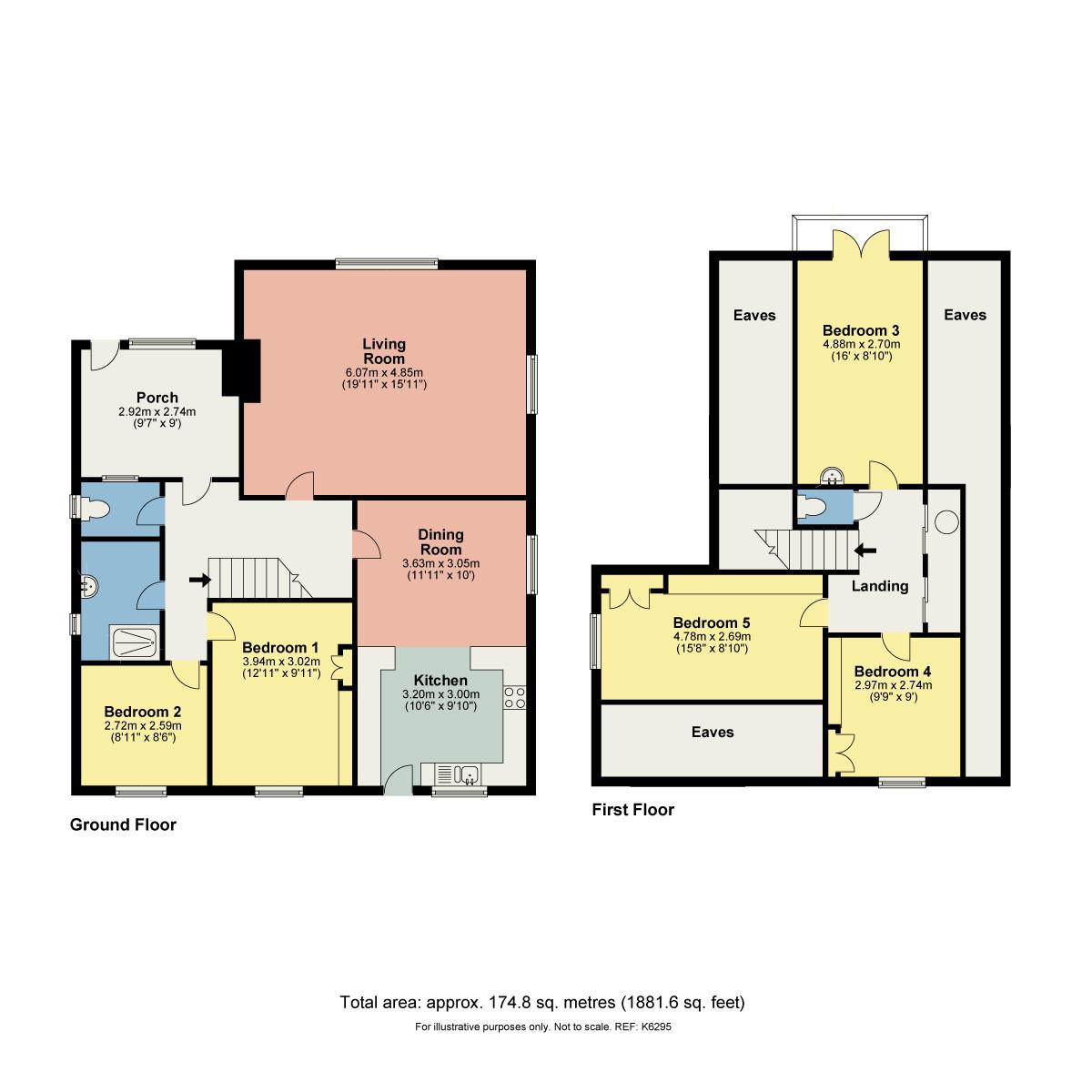 Floorplan Fairways, Church Road, Levens, Kendal, Cumbria, LA8 8PS
