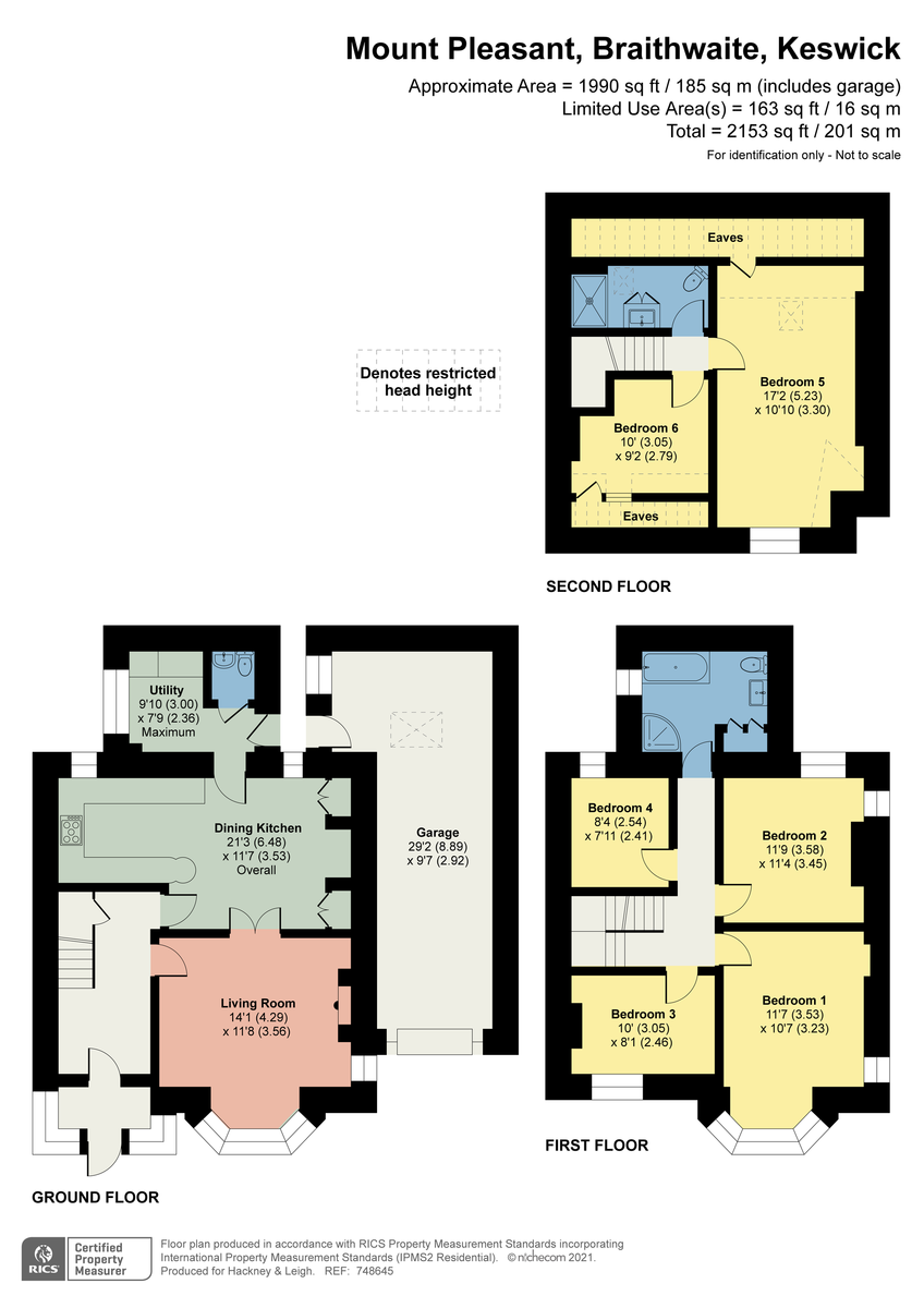 Floorplan Braithwaite, Keswick