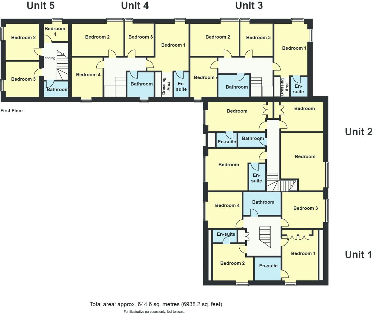 Floorplan Brigg House Barns, Helsington, Kendal, Cumbria, LA8 8AG