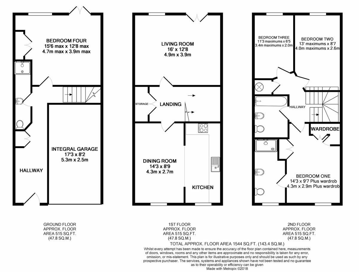Courtlands Close, Edgbaston, West Midlands floorplan 1 of 1