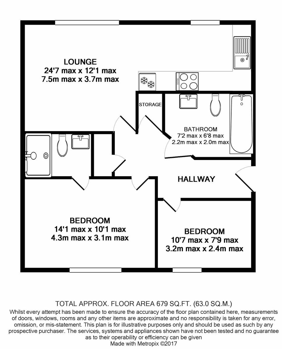 Viva apartments 10 Commercial Street floorplan 1 of 1