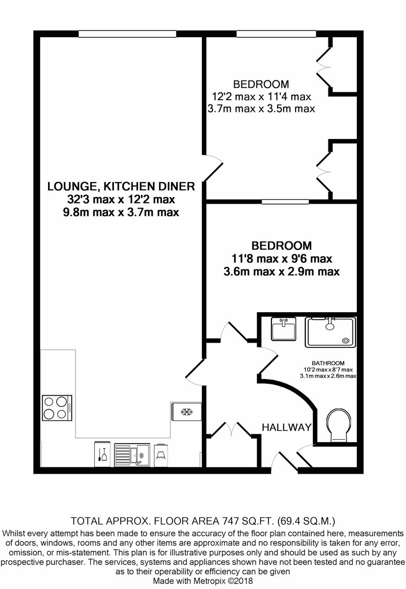 Amazon Lofts, Jewellery Quarter floorplan 1 of 1
