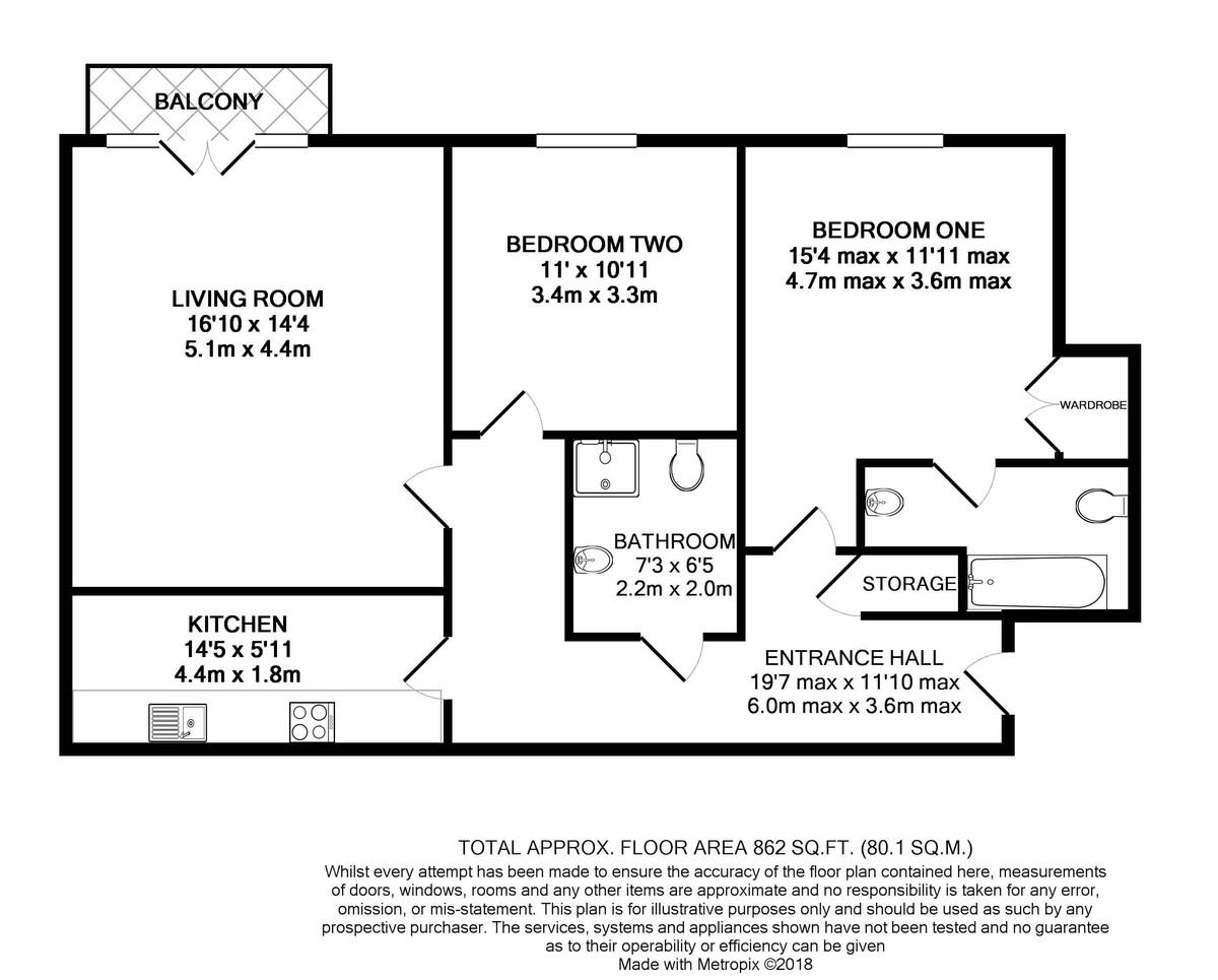 The Corner Place, Harborne floorplan 1 of 1