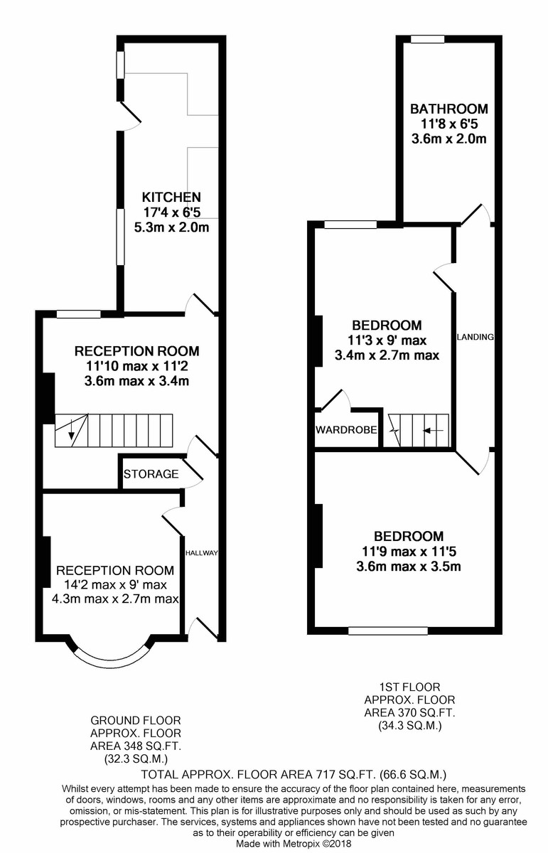 Farndon Road, Alum Rock floorplan 1 of 1