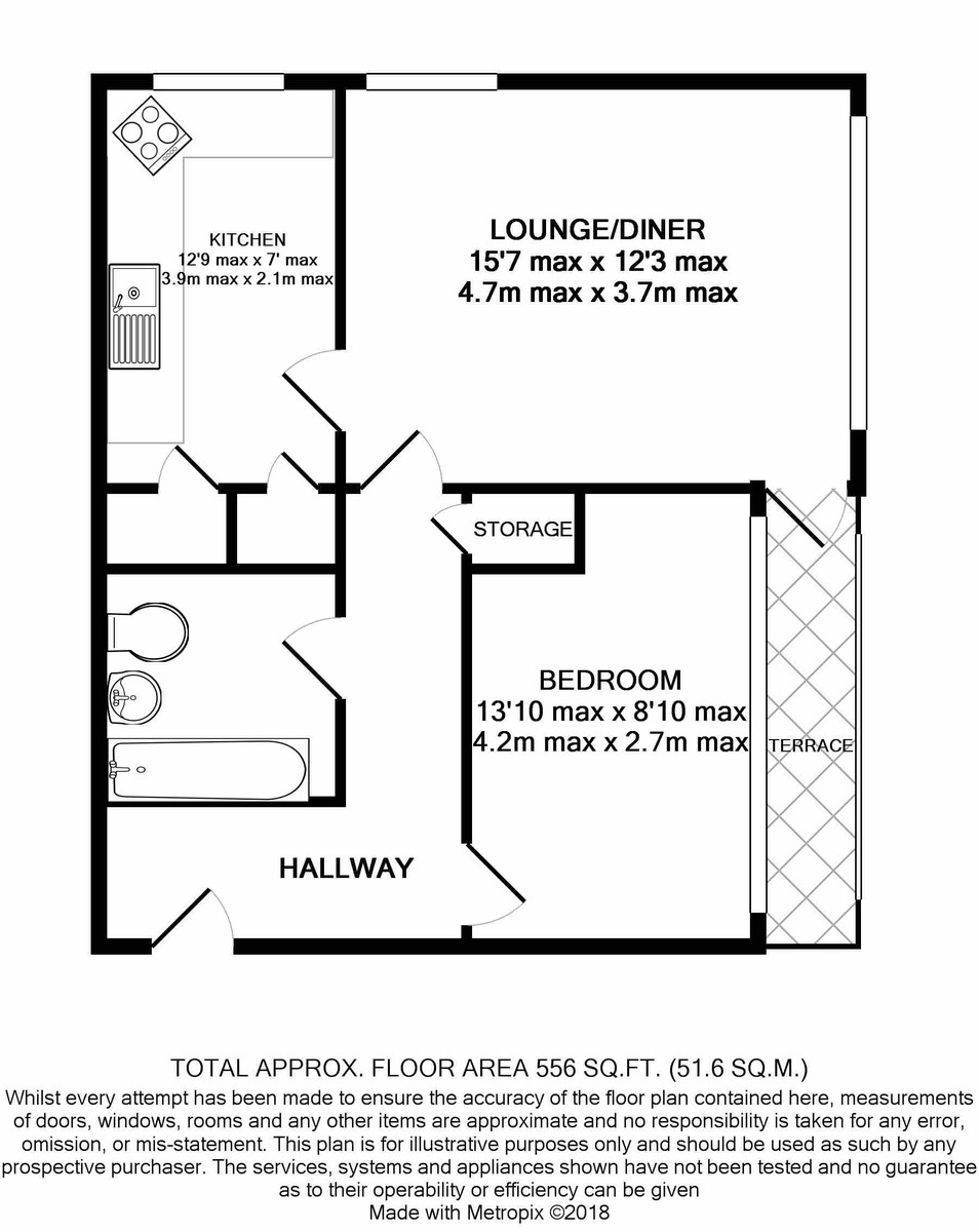 Norton Tower, Civic Close floorplan 1 of 1