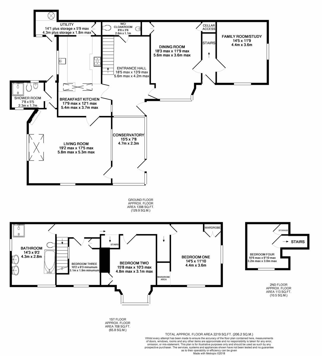 St. James Road, Edgbaston floorplan 1 of 1