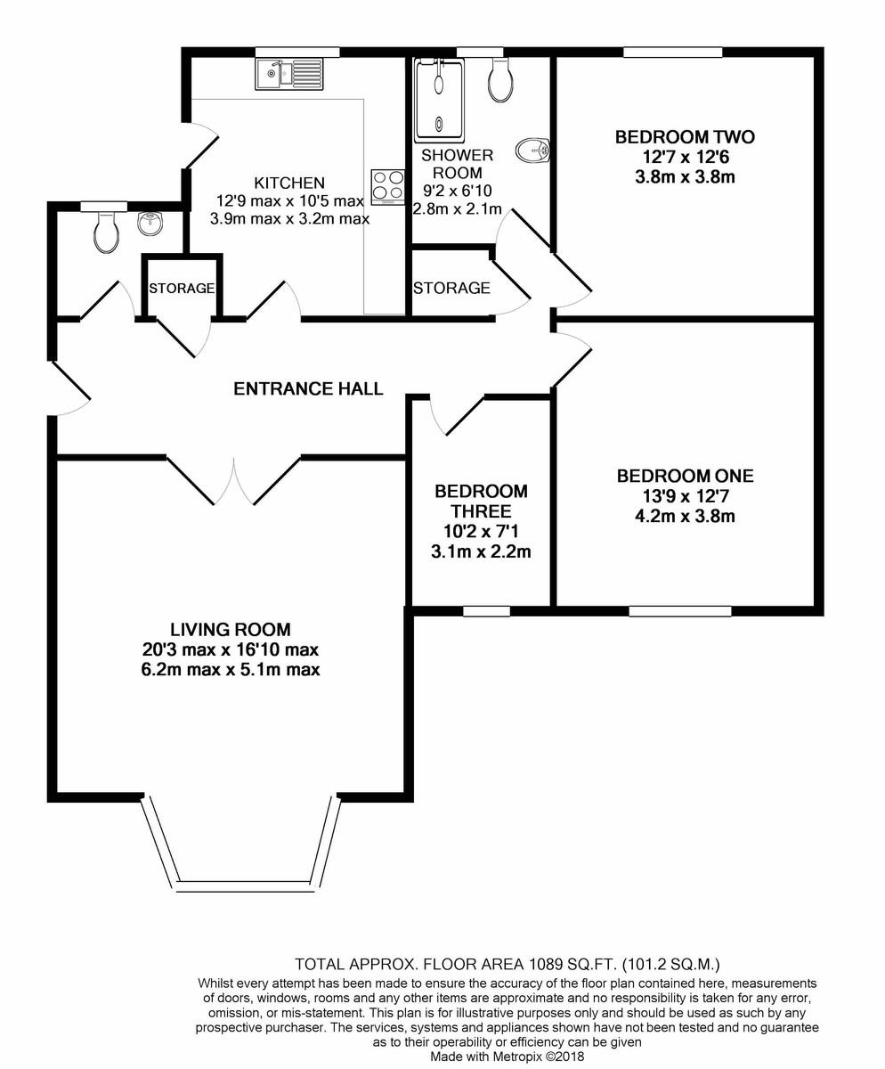 Viceroy Close, Edgbaston floorplan 1 of 1