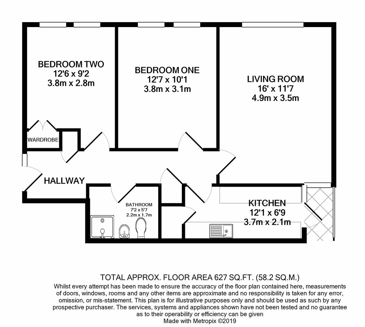 Warwick Crest Arthur Road floorplan 1 of 1