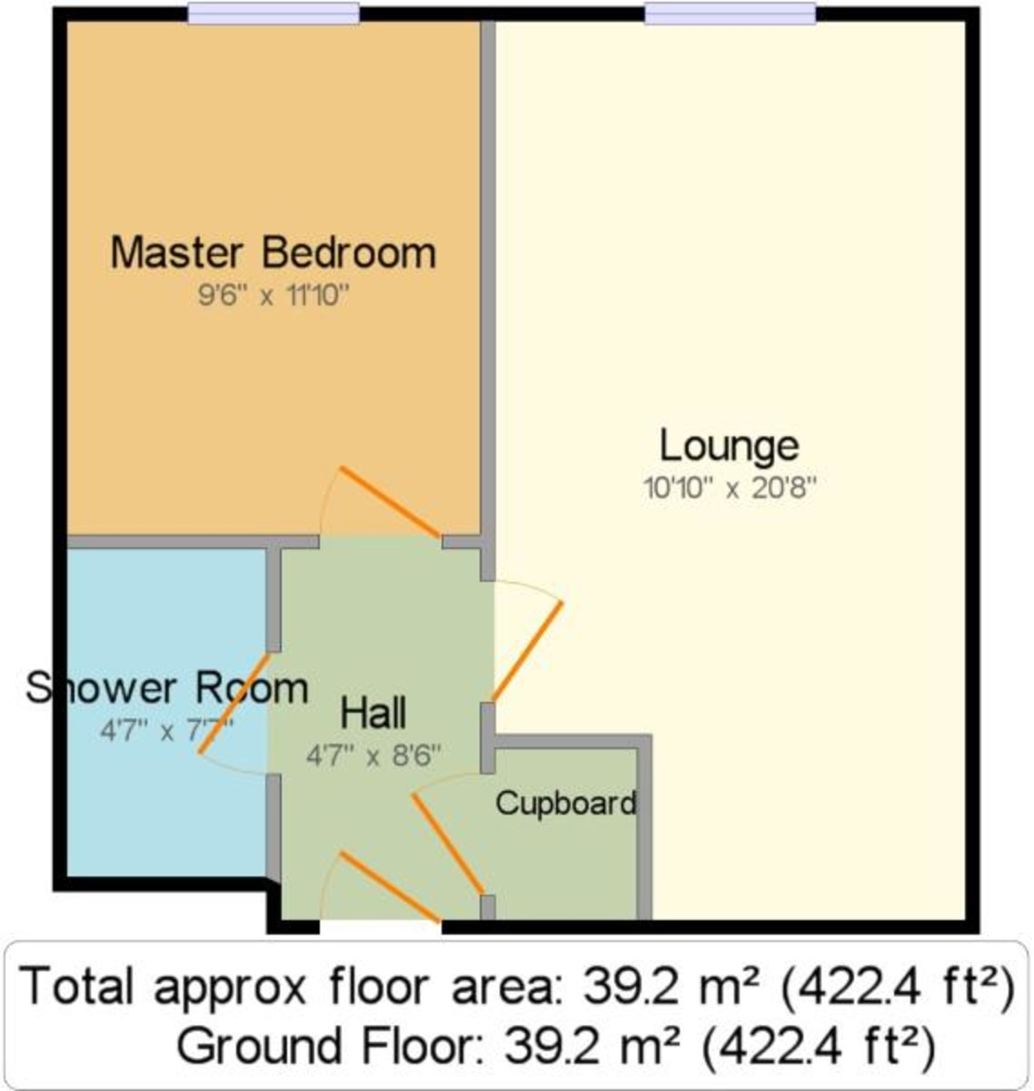 Canal Wharf, 18 Waterfront Walk floorplan 1 of 1