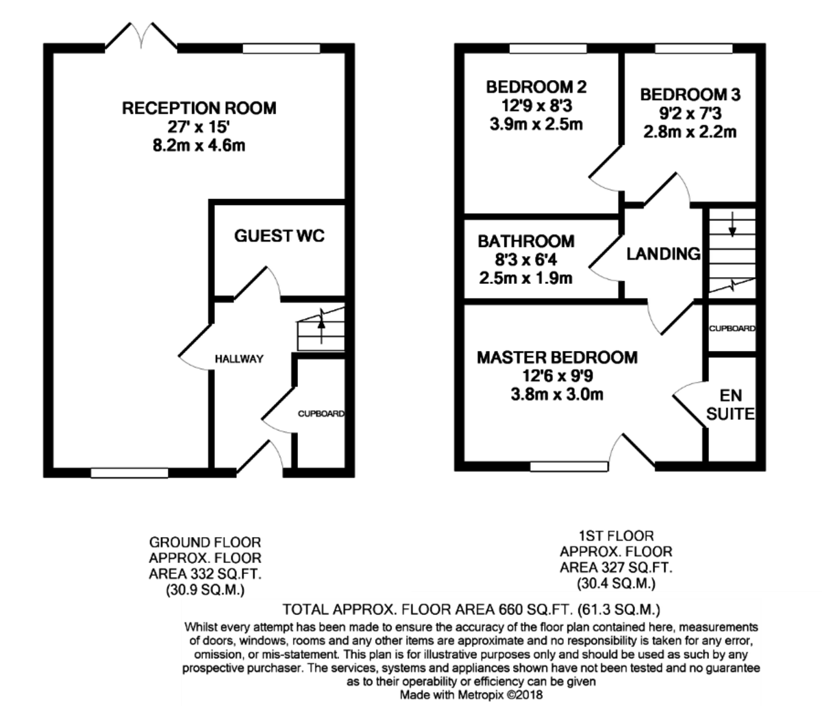 Windrush Grove, Birmingham floorplan 1 of 1