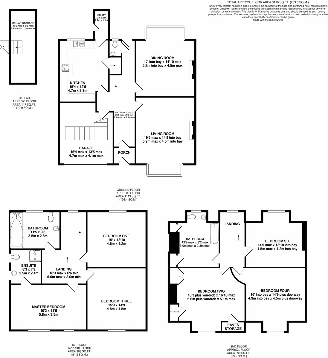 Rotton Park Road, Edgbaston floorplan 1 of 1