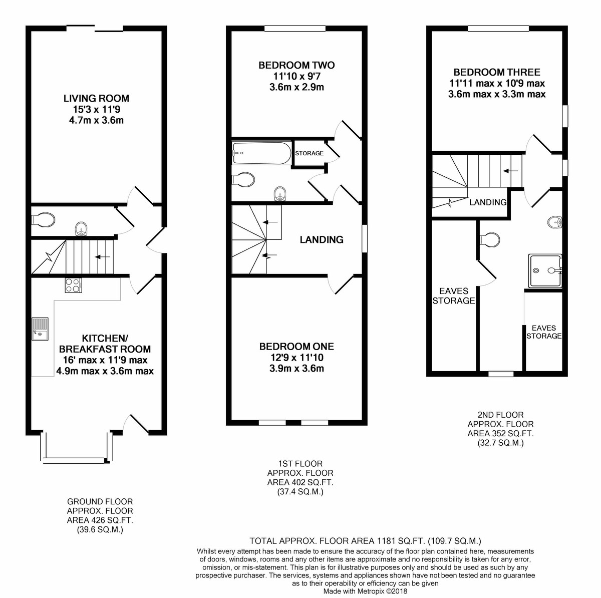 Harold Road, Edgbaston floorplan 1 of 1