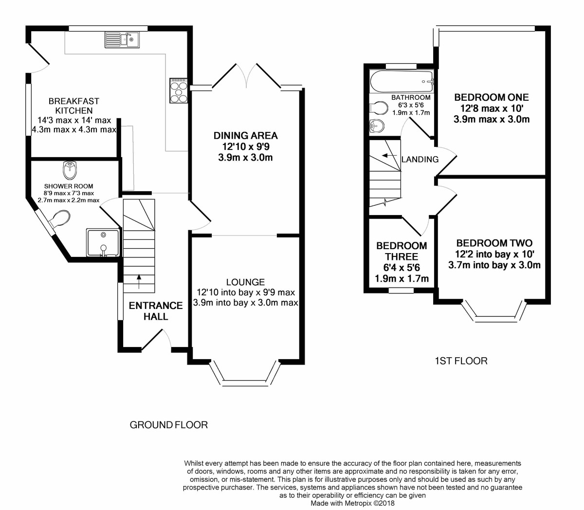Widney Avenue, Selly Oak floorplan 1 of 1