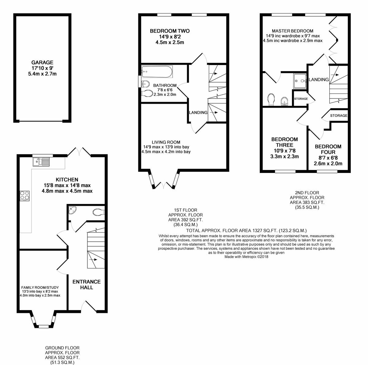Barley Road, Edgbaston floorplan 1 of 1