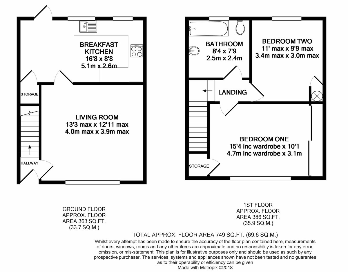Swinford Road, Birmingham floorplan 1 of 1