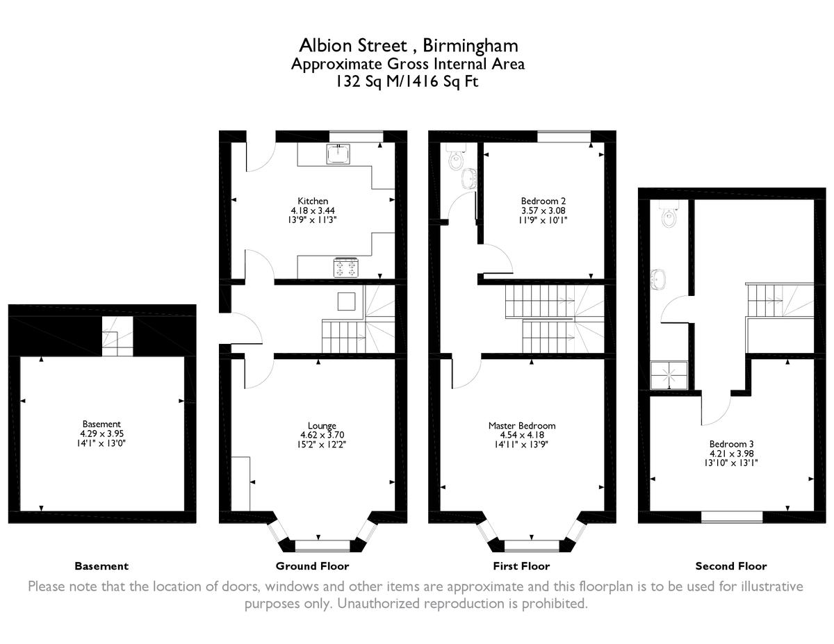Albion Street, Jewellery Quarter, Birmingham City Centre floorplan 1 of 1